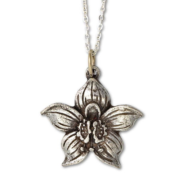 Flower of the Month Pendant