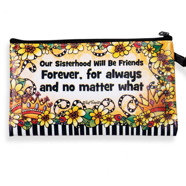 Suzy Toronto Wacky Sisterhood Zippered Bag