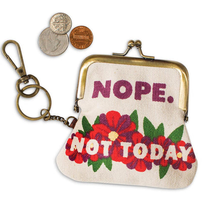 Not Today Coin Purse