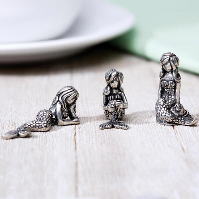 Miniature Mermaid Sculptures