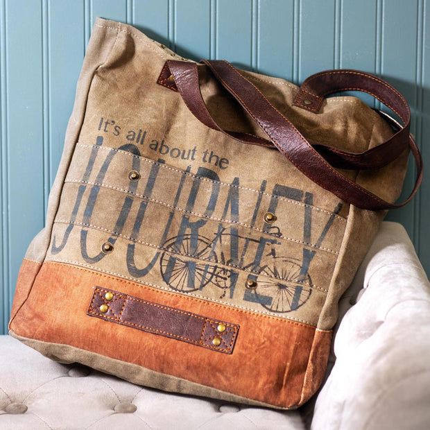 All About the Journey Tote