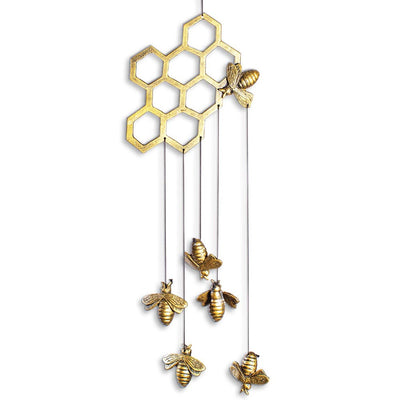 Bees and Honeycomb Wind Chime