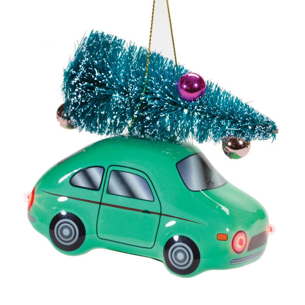 Light Up Car Ornament
