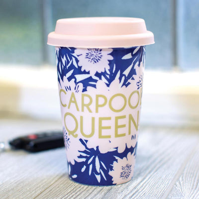 Carpool Queen Travel Mug