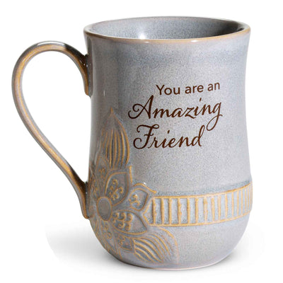 Amazing Friend Pottery Mug