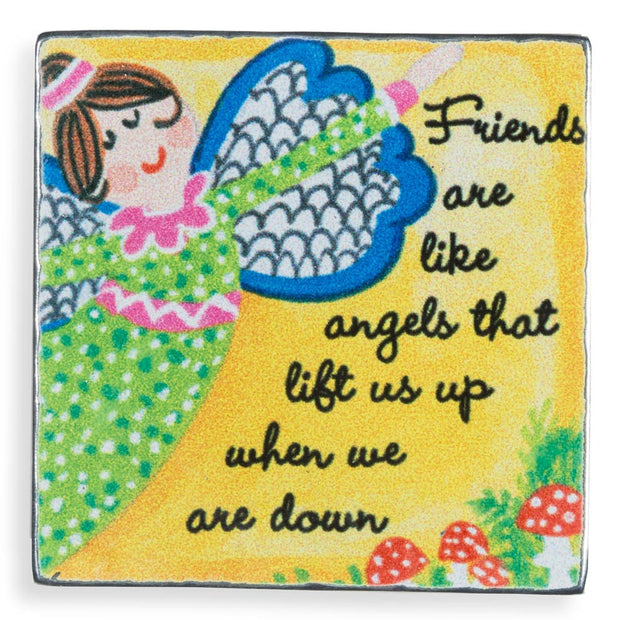 Friends are Like Angels Magnet