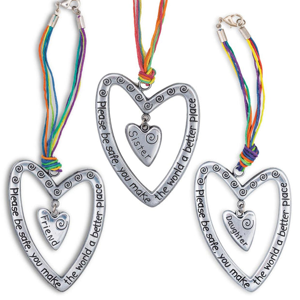 Heart Car Charms