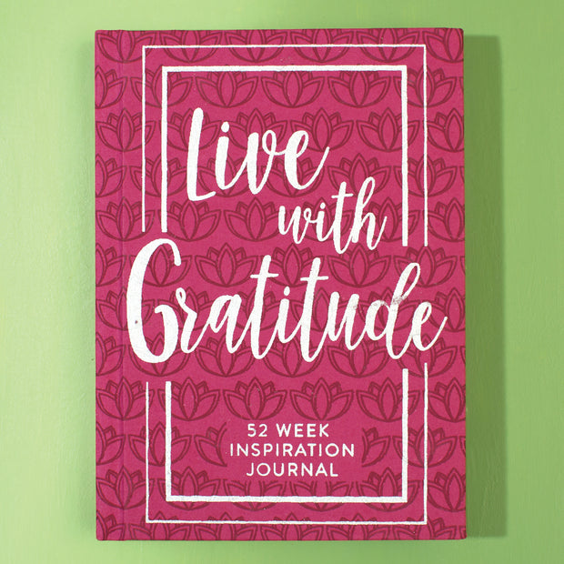 Gratitude 52 Week Journal