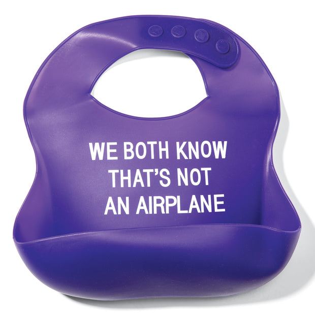 Not an Airplane Bib