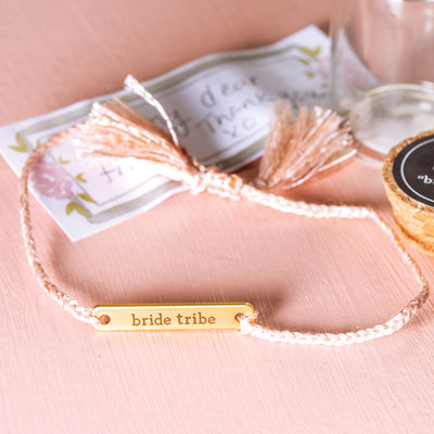 Bride Tribe Love Notes Bracelet