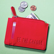 Be the Change ID Holder and Coin Purse