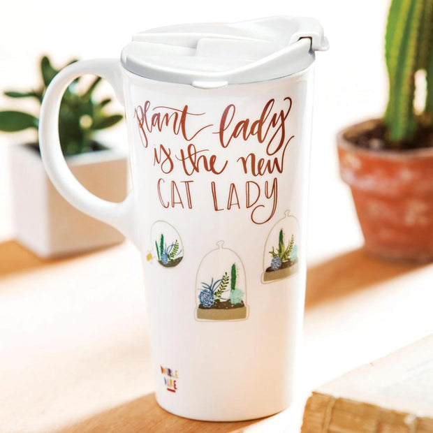 Plant Lady Travel Cup
