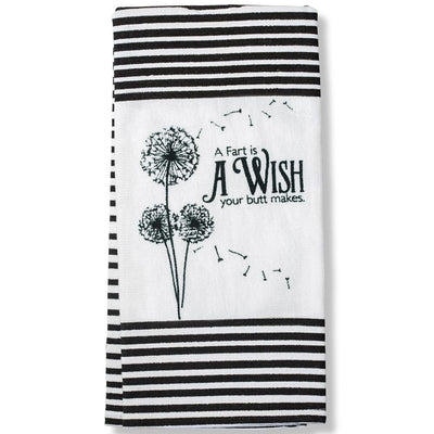A Fart Is Wish Terry Cloth Towel