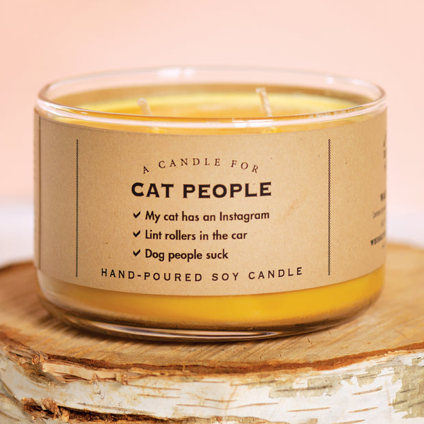 Cat People Candle