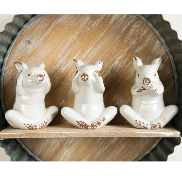 Piggies Set of 3