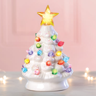 White LED Tree