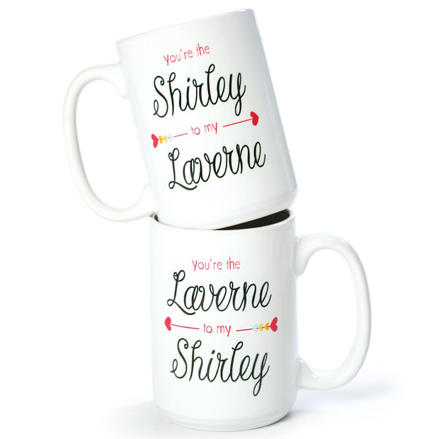 Laverne and Shirley Mugs