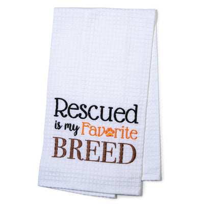 Rescued Breed Towel