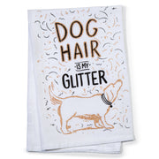 Dog Hair Tea Towel