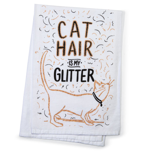 Cat Hair Tea Towel