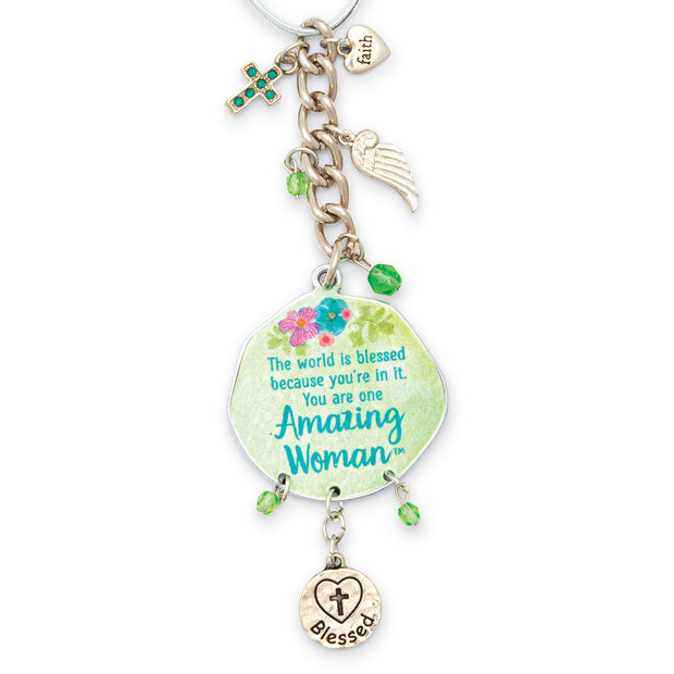 Amazing Woman Car Charm