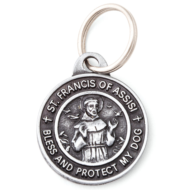 St. Francis Dog Tag