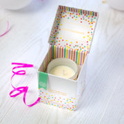 Birthday Cake Candle In Music Box