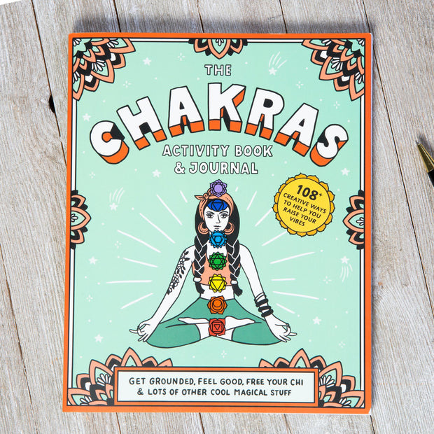 the Chakras Book and Journal