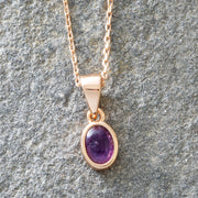 Meaningful Stones Amethyst Necklace