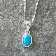 Turquoise Meaningful Stones Giving Necklace