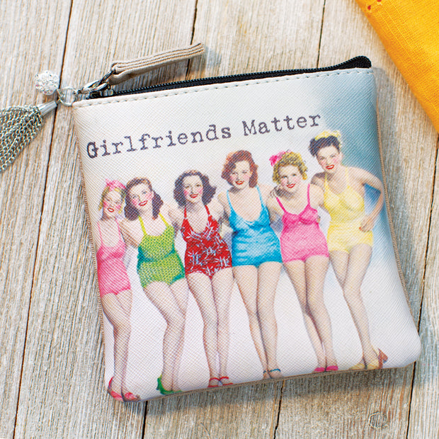 Girlfriends Matter Coin Purse