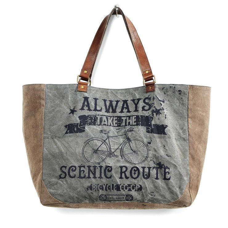 Scenic Route Weekender Tote