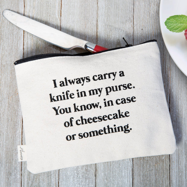 Knife in Purse Bag