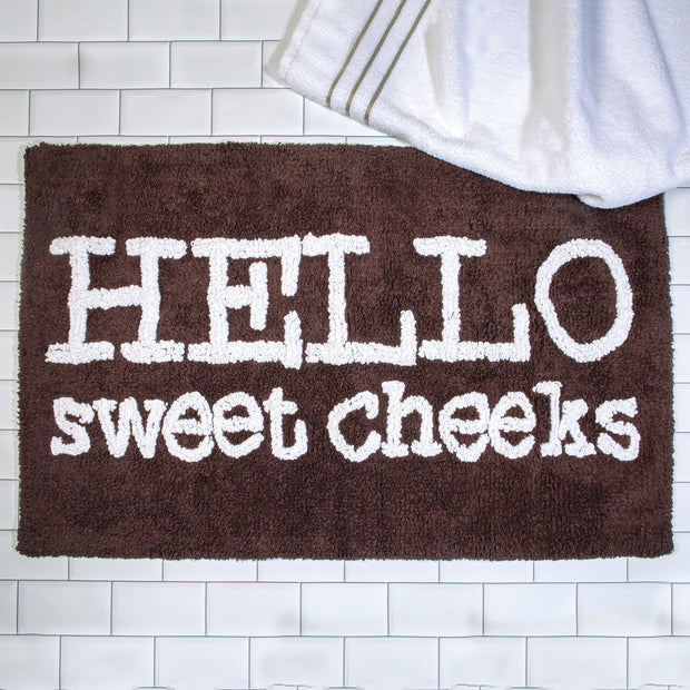 Sweet Cheeks Bath Rug