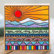 My Sunshine Block Sign