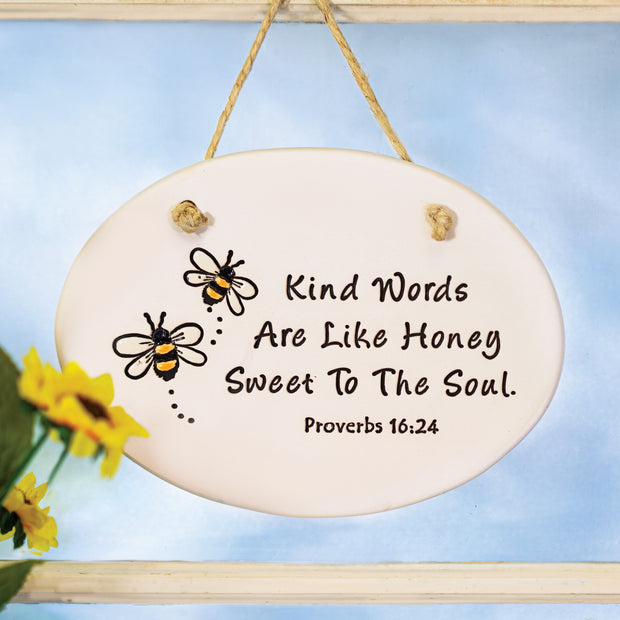 Kind Words Plaque