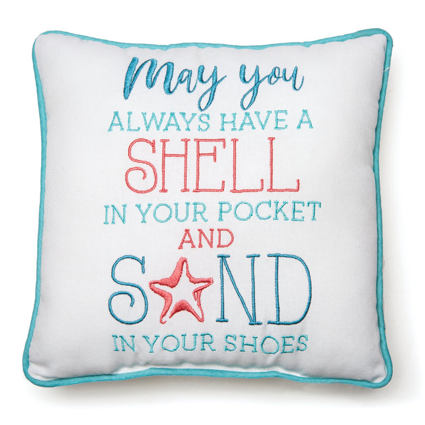 Shell in Your Pocket Pillow