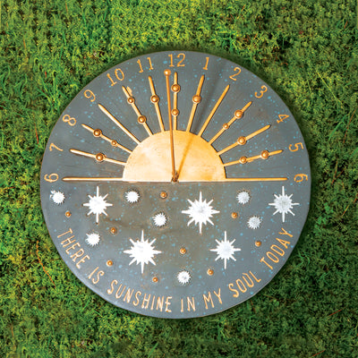 There is Sunshine in my Soul Sundial