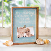Beach Memories Frame Sign