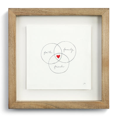 Family Circles Wall Art