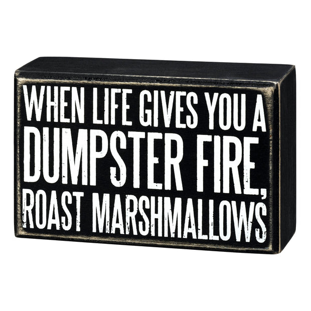 Roast Marshmallows Sign