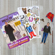 Dress to Dissent RBG Magnet Set