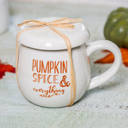 Pumpkin Spice Mug & Coaster Set