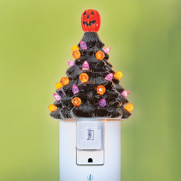 Halloween Tree Night Light