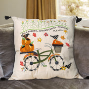 Fall Breeze Bike Pillow
