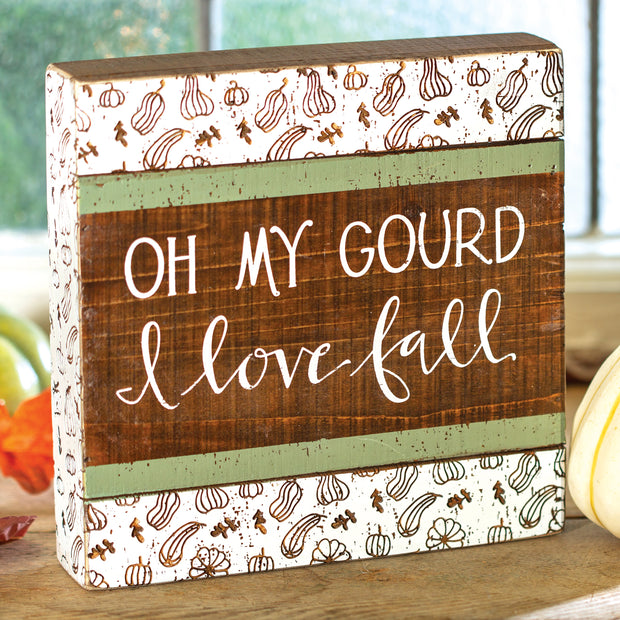 Love Fall Box Sign