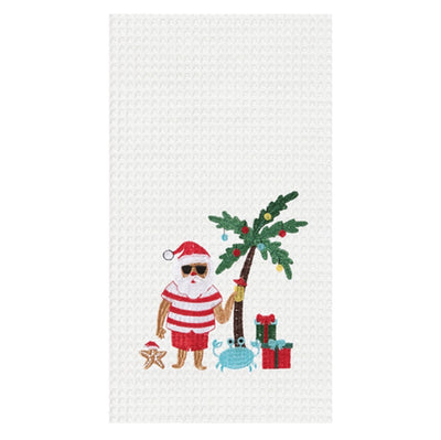 Vacation Santa Towel