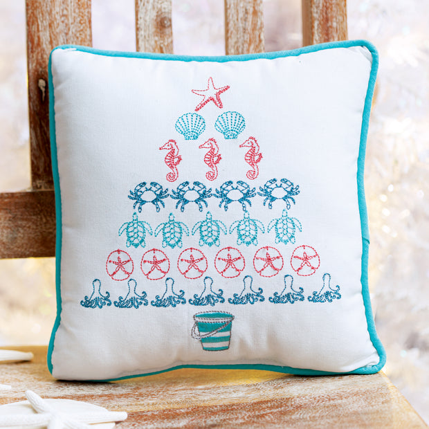 Coastal Tree Pillow