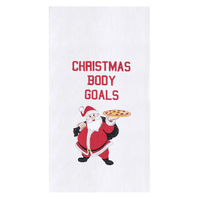 Christmas Body Goals Towel