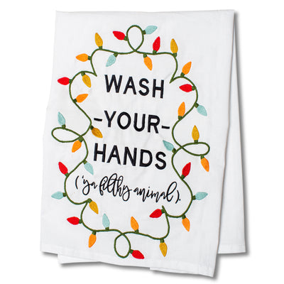 Wash Your Hands Tea Towel